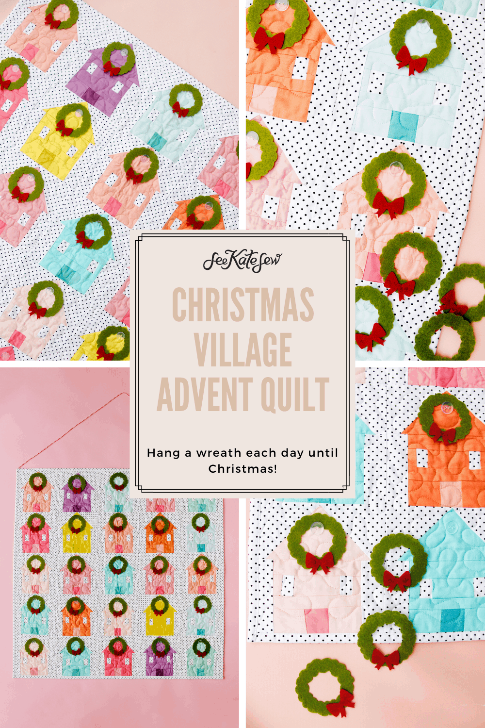 Advent Quilt Wall Hanging