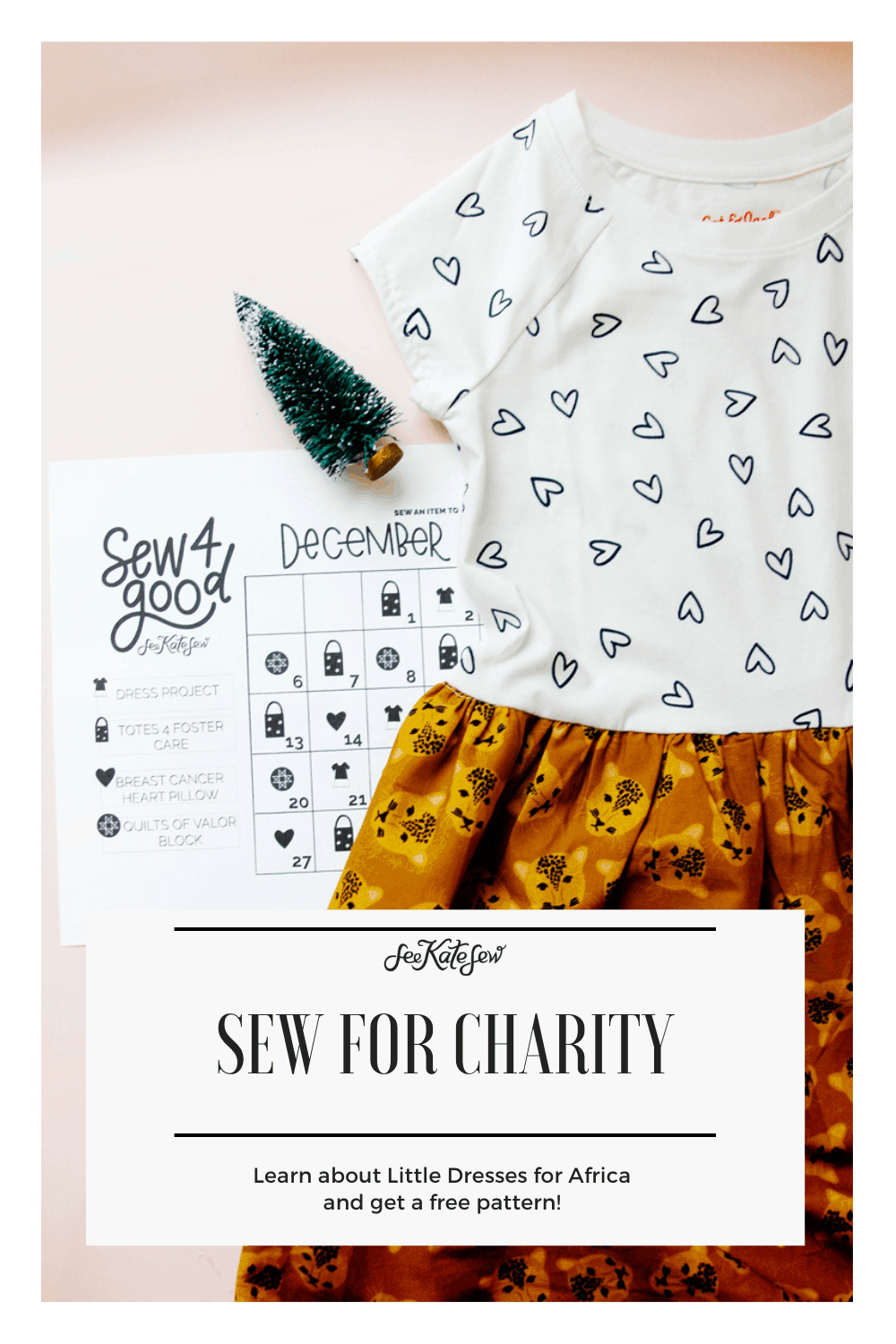 Sewing Dresses for Charity