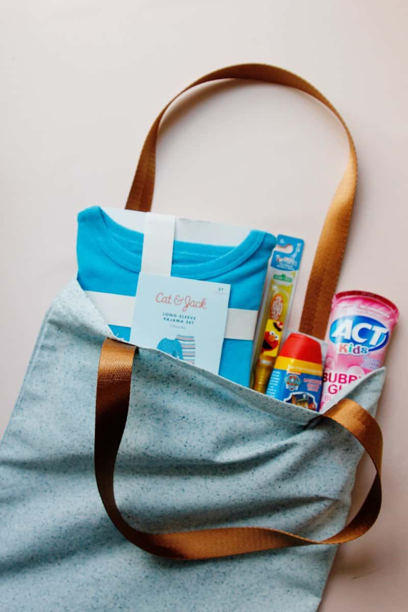 Sew a tote for foster care