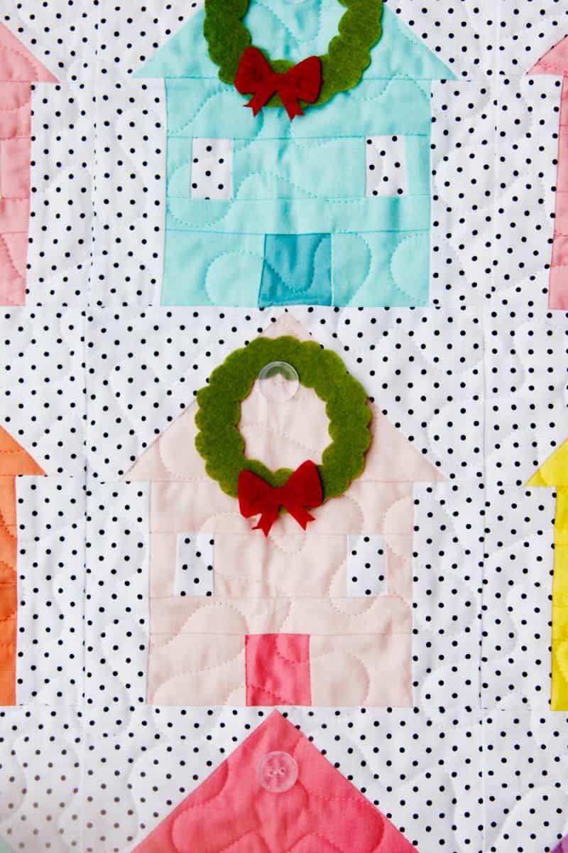 Christmas Advent Calendar Quilt