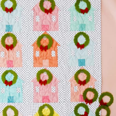 Christmas Advent Calendar Wall Hanging