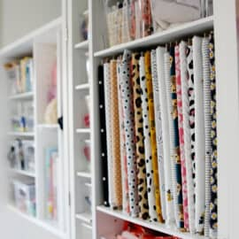 How to keep fabric Organized