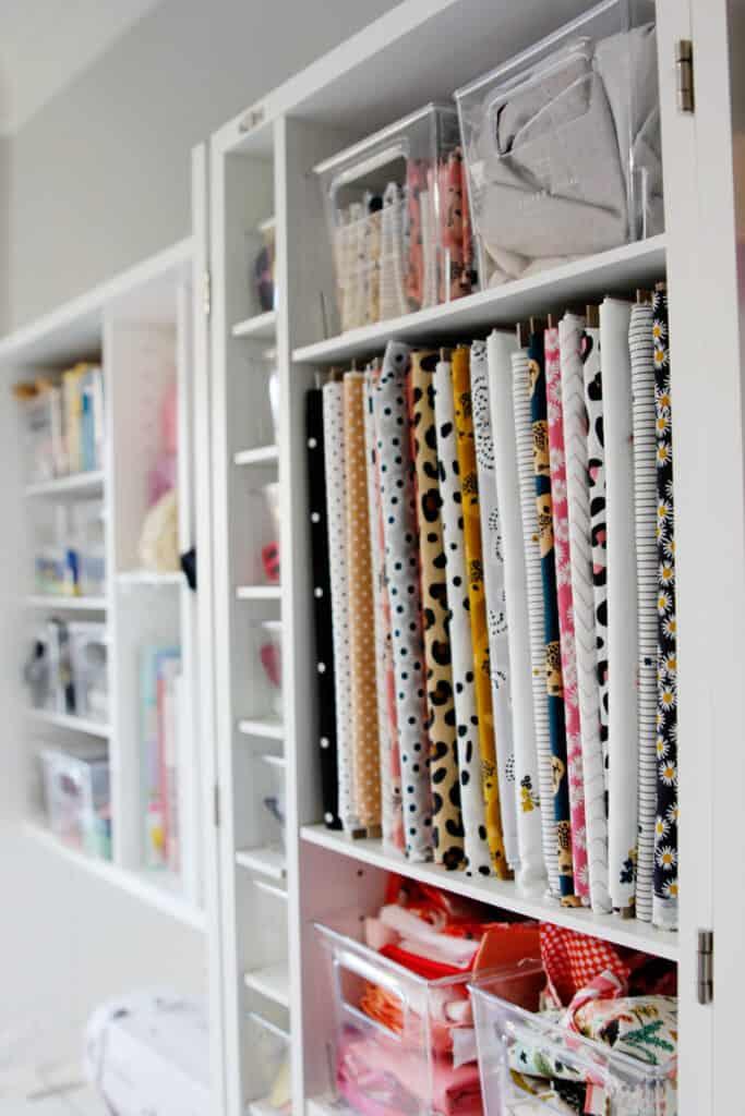 How to keep fabric Organized