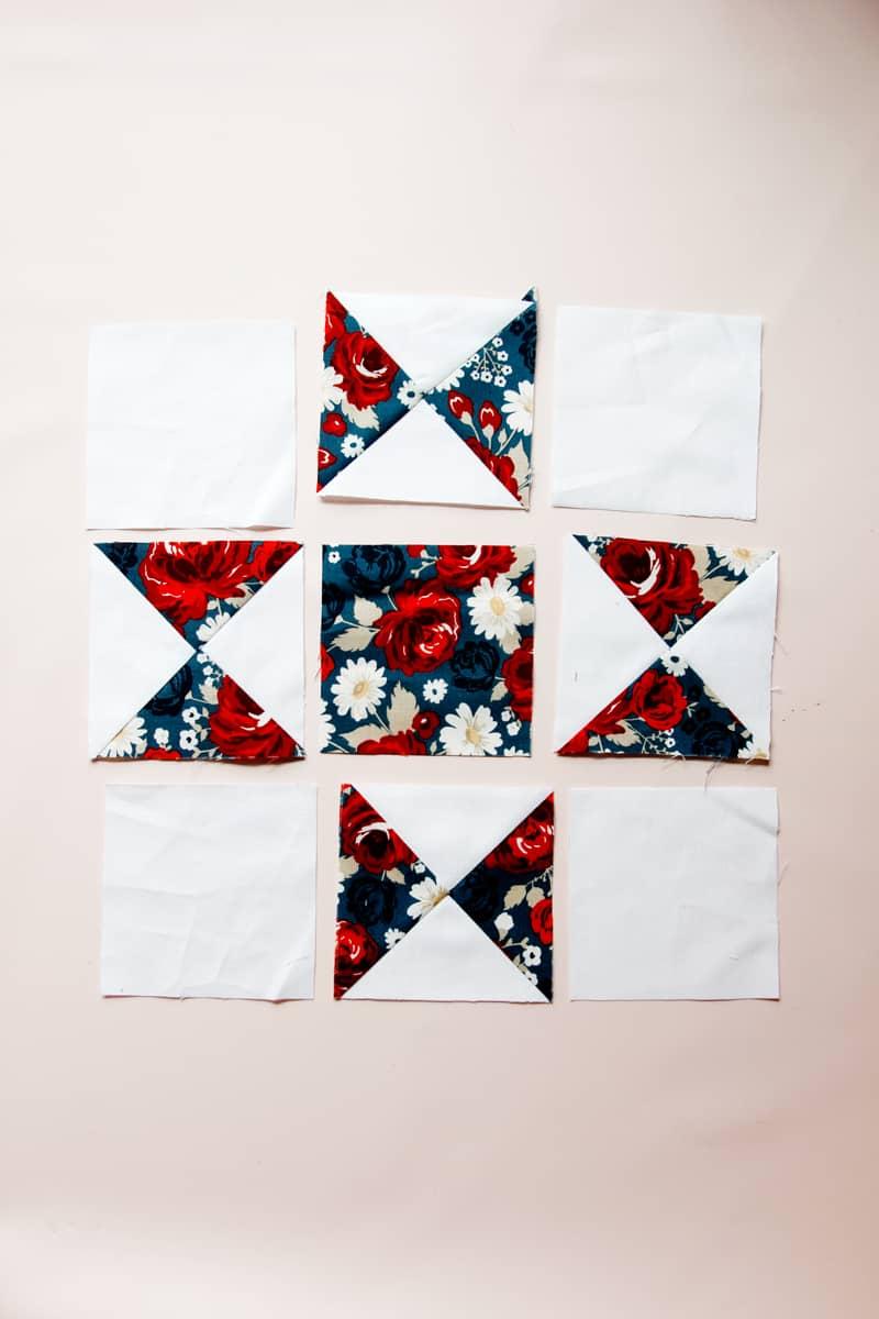 How to sew the Ohio Star Block