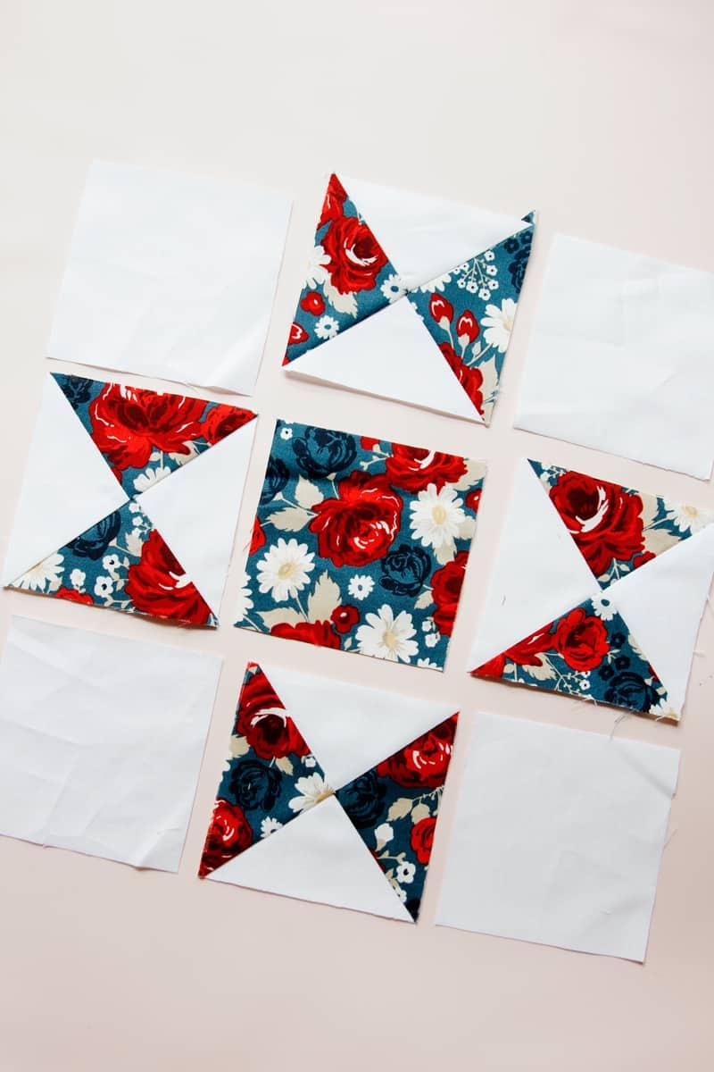 Ohio Star Block Sewing Instructions