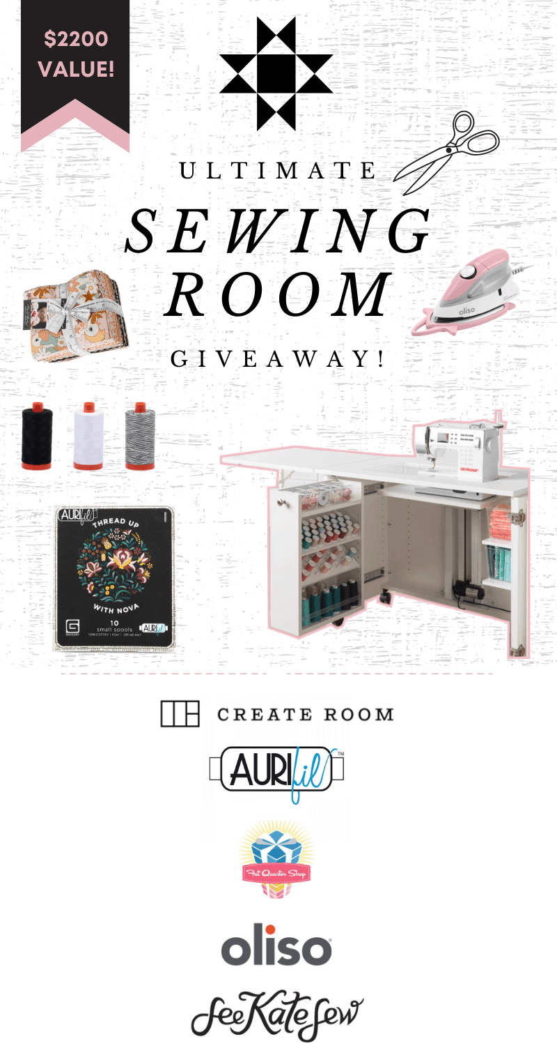 Ultimate Sewing Room Giveaway