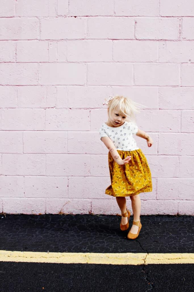 Sew a T-shirt Dress