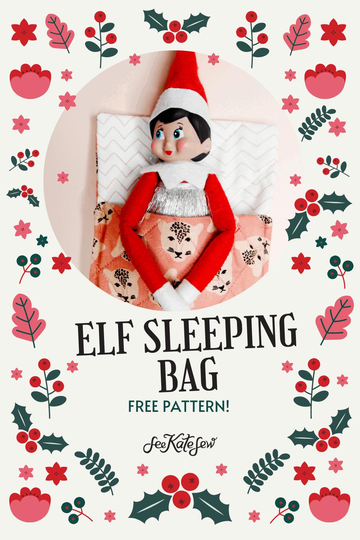 Make your own elf sleeping bag