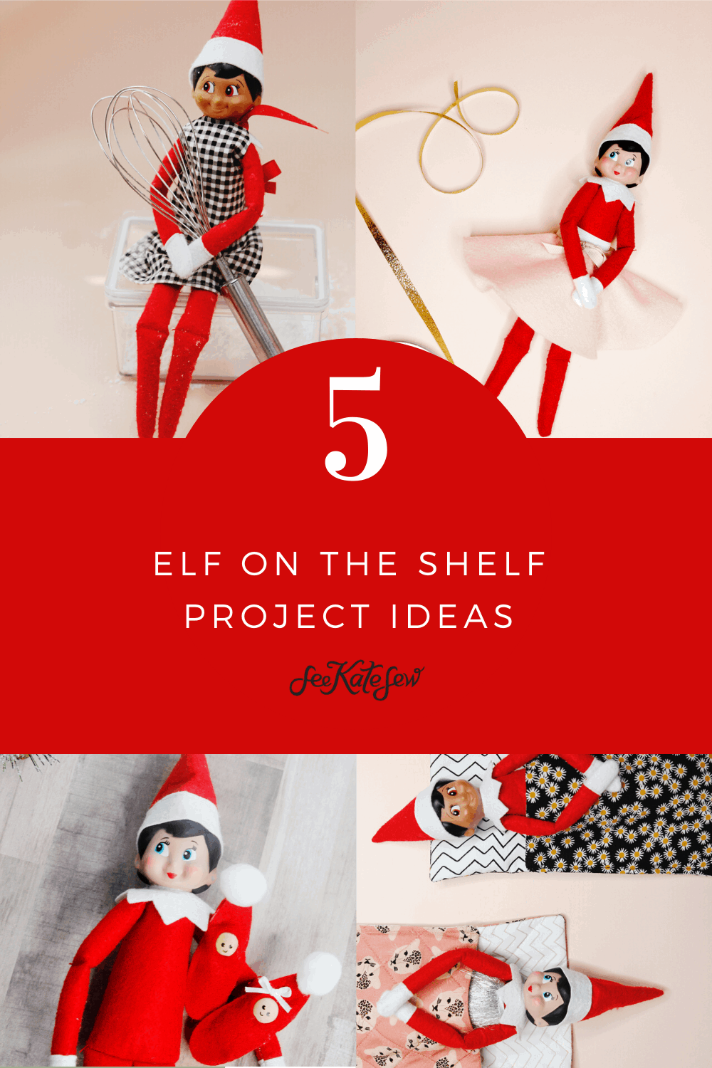5 fun things to make for your elf on the shelf | DIY ELF IDEAS