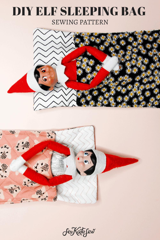 Elf Sleeping Bag | Doll Sleeping Bag