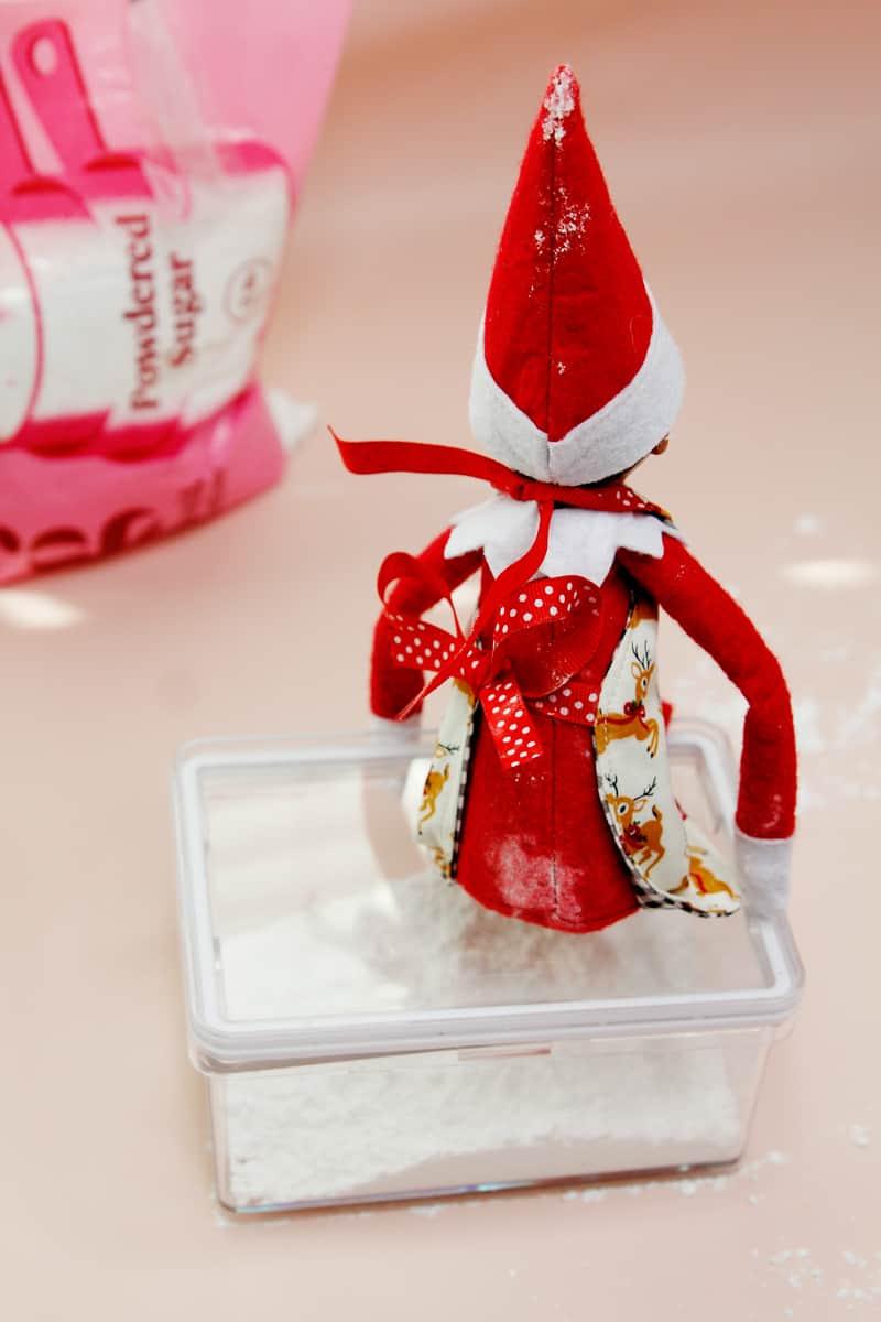 Elf on the Shelf Apron