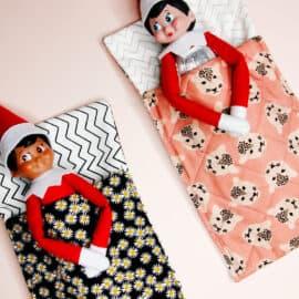 Elf on the Shelf Sleeping Bag Pattern