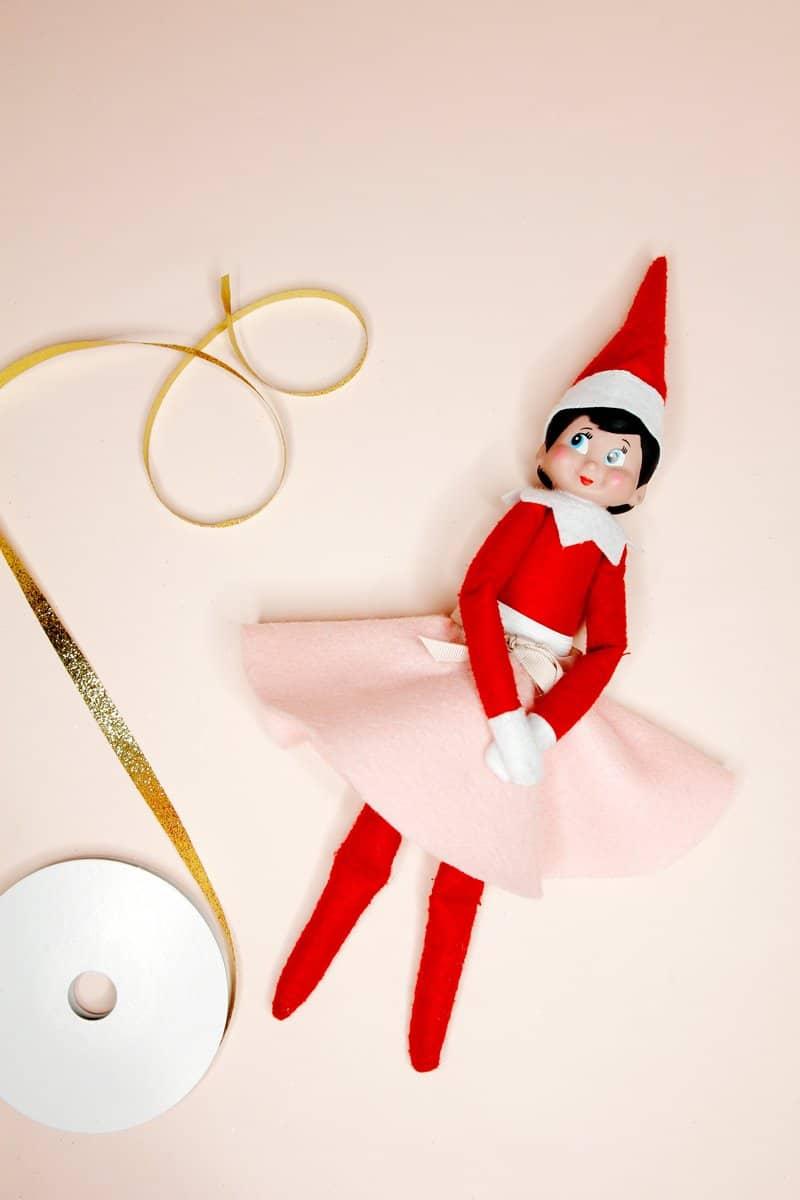 Elf Skirt Tutorial | Elf on the Shelf Skirt Pattern