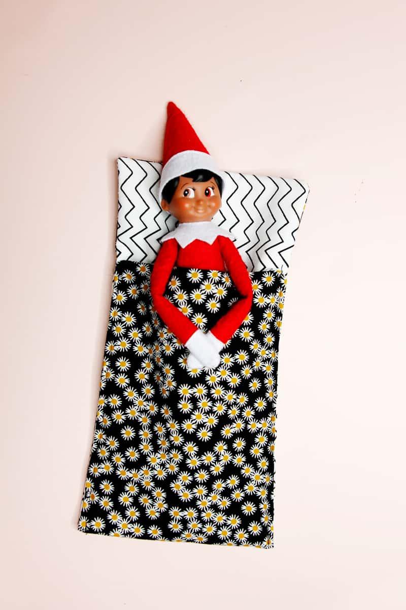 elf sleeping bag tutorial | Free Sewing Pattern