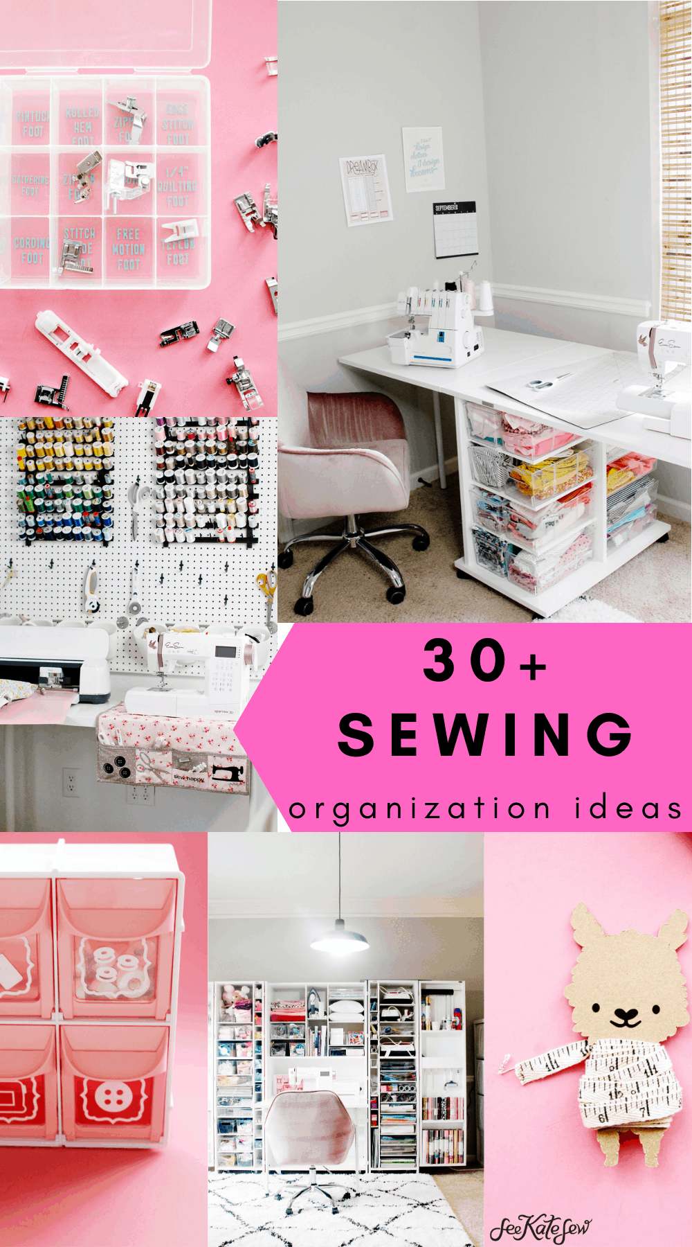 30 Sewing Room Ideas