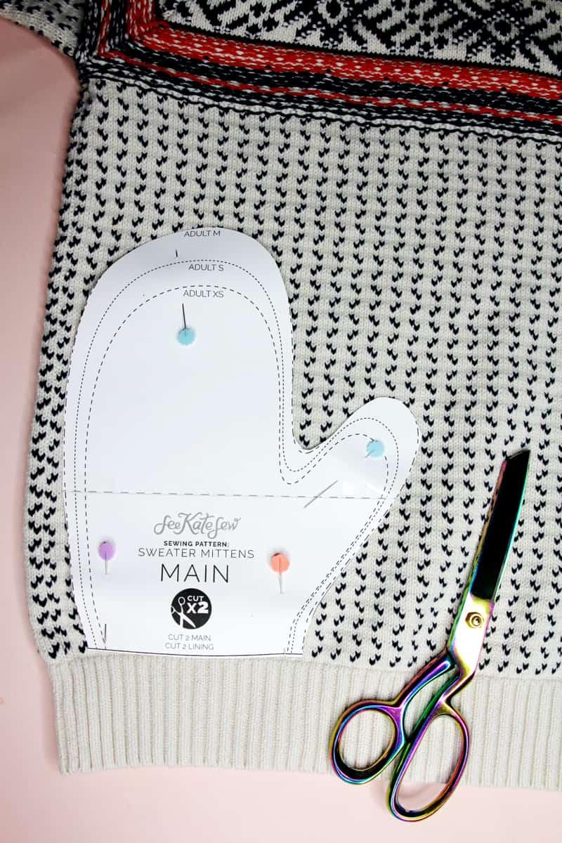 Mitten Pattern Sewing | How to make Bernie Mittens