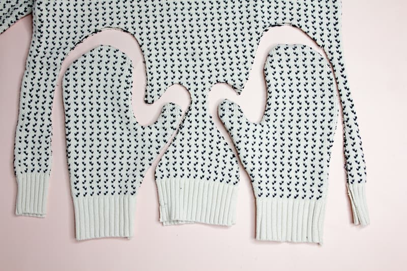Mitten Pattern Sewing | Sewing Bernie's Mittens | DIY Winter Gloves | Upcycled Sweater Gloves