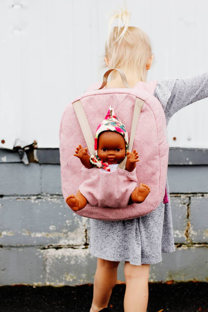 Baby Doll Carrier Backpack Pattern
