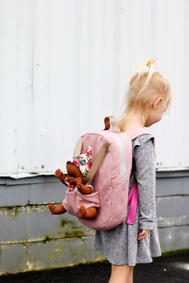 Baby Doll Carrier Pattern   Make a Backpack to hold your baby dolls!
