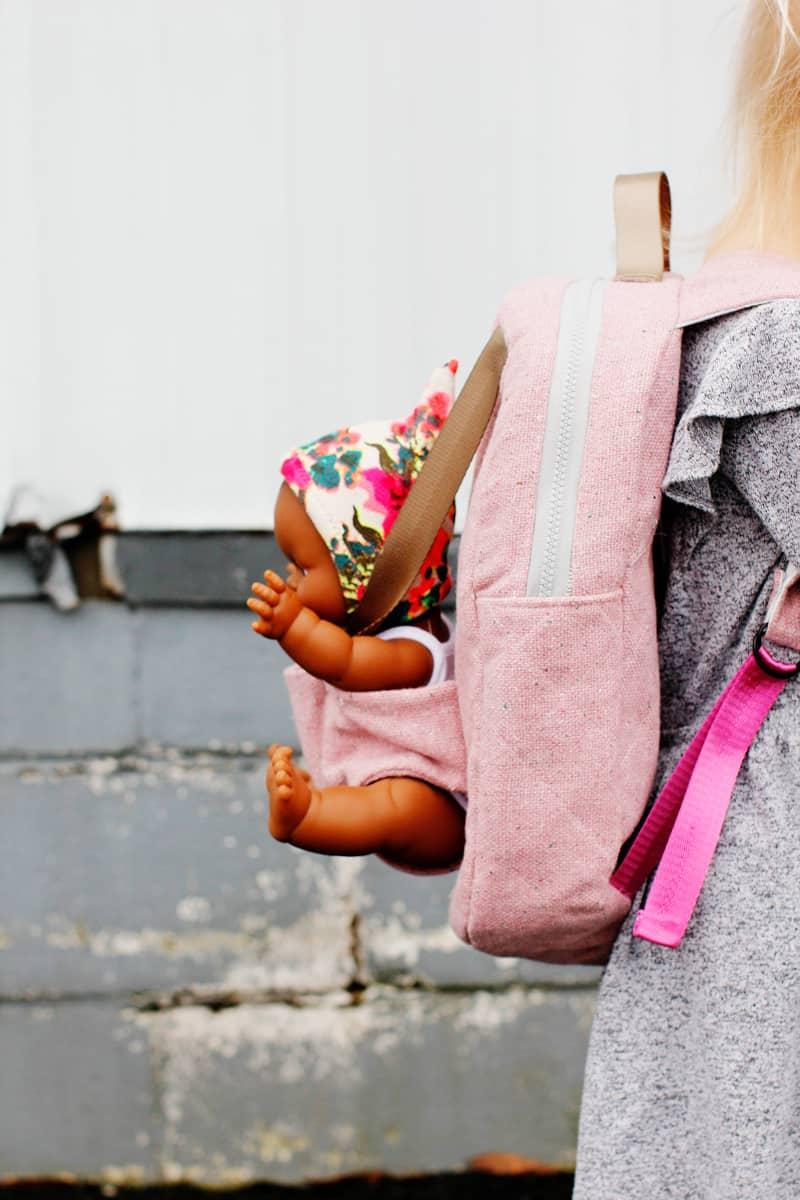 Baby Doll Holder Backpack