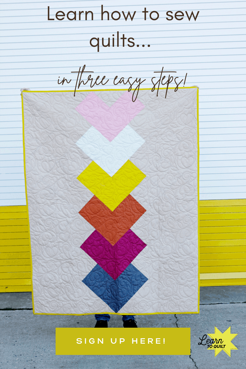 Sewing Quilts for Beginners | Learn to Quilt | Sewing