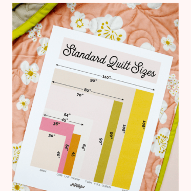 Quilting: FREE reference printable