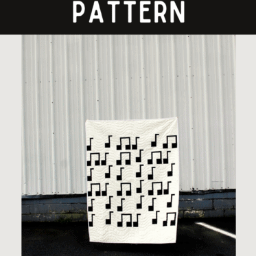 Musical Quilt Pattern Sewing