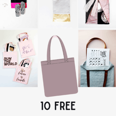 FREE Tote Bag Patterns To Sew