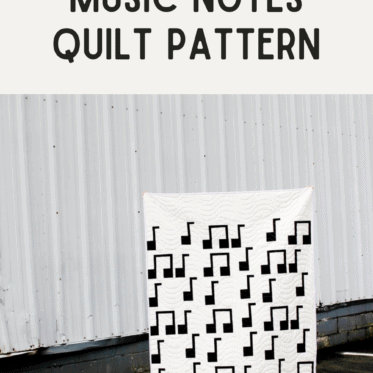 Music Lovers Quilt Pattern