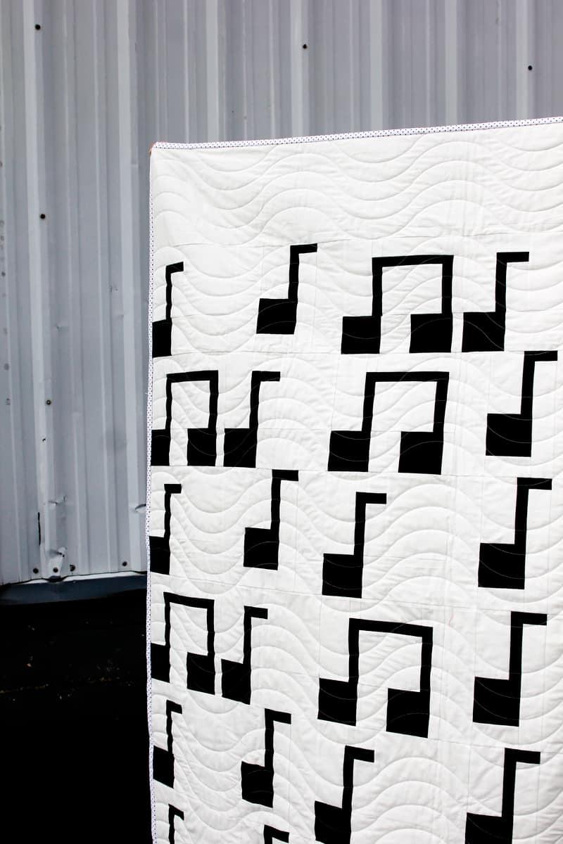Music Quilt Pattern
