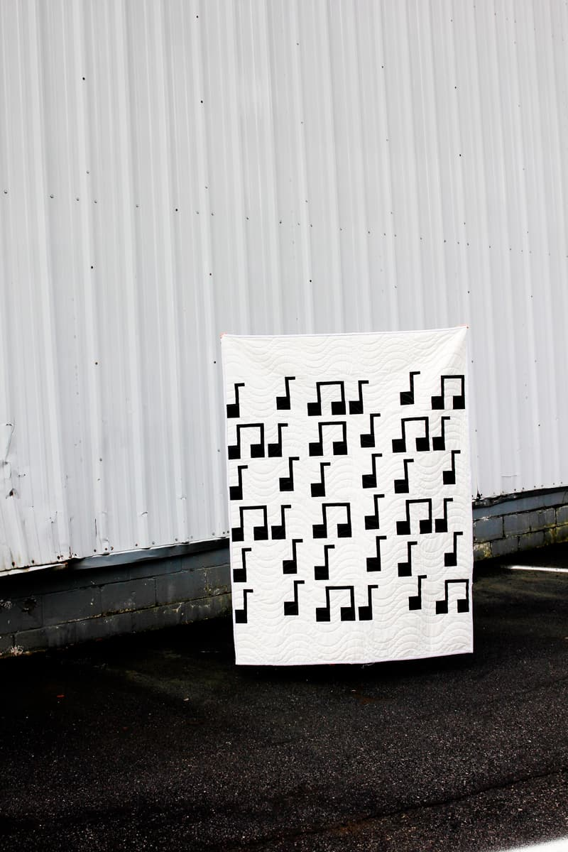 Easy Musical Quilt Pattern