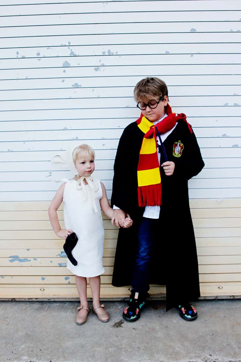 Dobby and Harry Potter Sibling Costumes