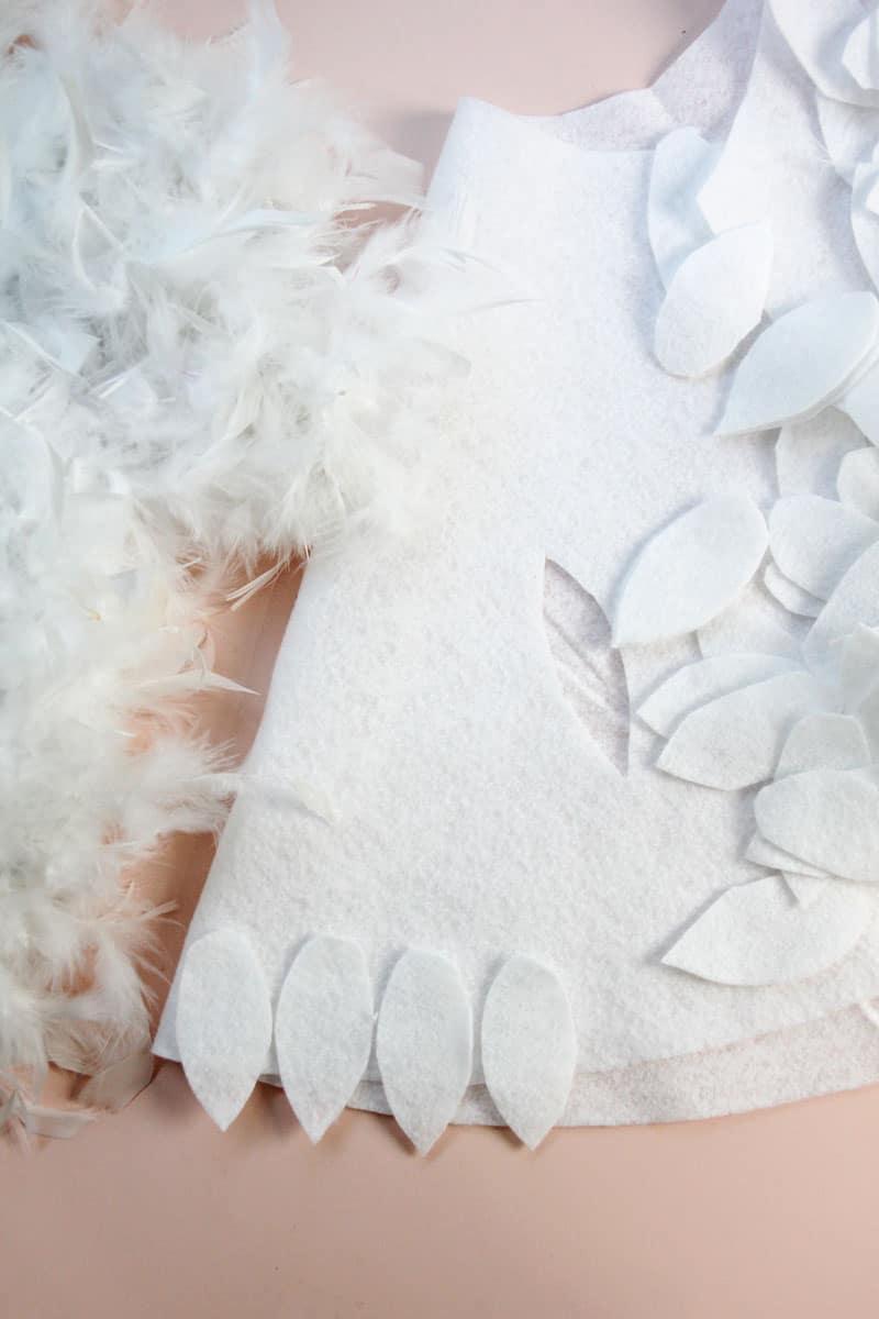 DIY No Sew Hedwig Cape