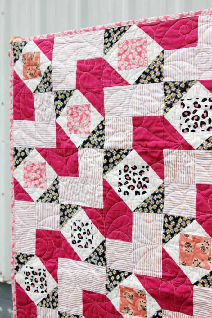 Spotted Quilt | Hearts and Darts