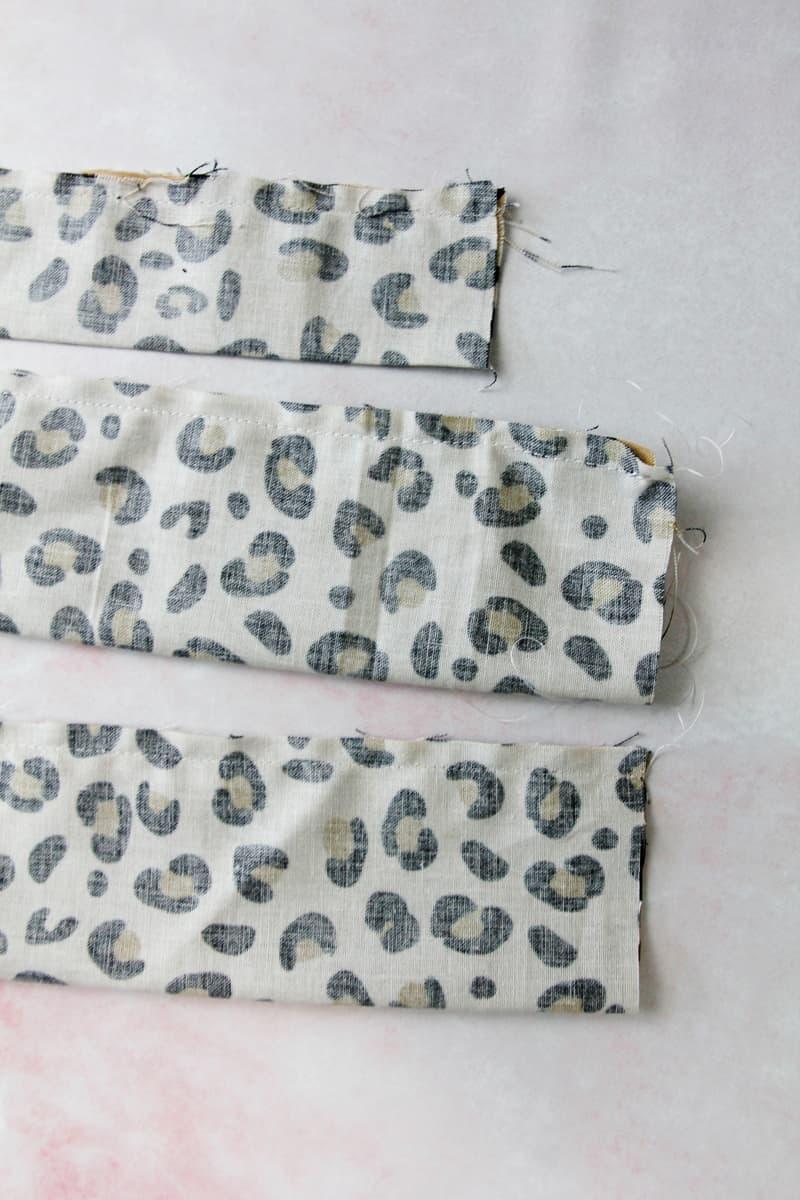 Sew a headband with fabric