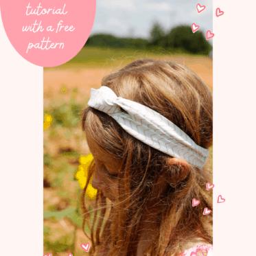 DIY Twist Headband | Fabric Headband Pattern