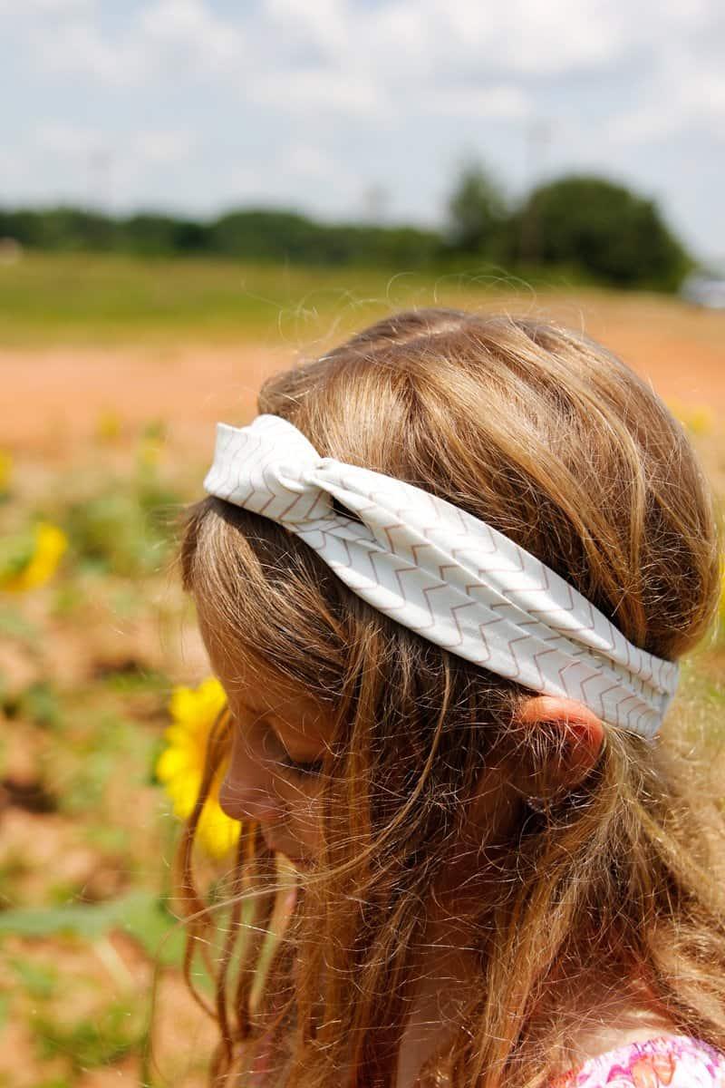 Twisted Headband Pattern Tutorial