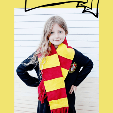 Harry Potter House Scarf Pattern | No Sew Hermione Scarf