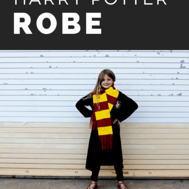 Harry Potter Robe Pattern | Download the free printable Hogwarts Robe Pattern