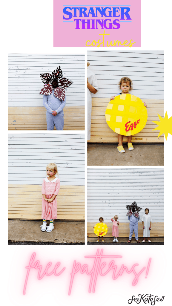 Make your own Eleven, Waffle and Demogorgon Costumes