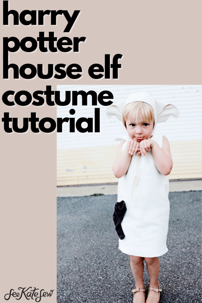 DIY Dobby Costume | Toddler House Elf Costume