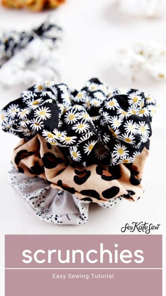 Make a Scrunchie with Measurements