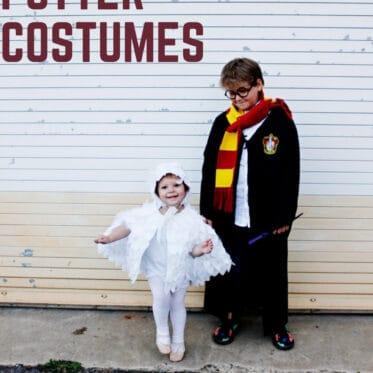 DIY Hedwig Costume