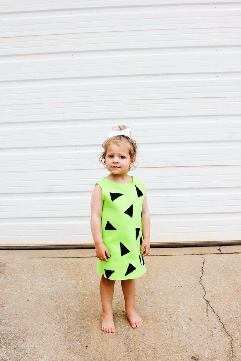 DIY Pebbles Costume