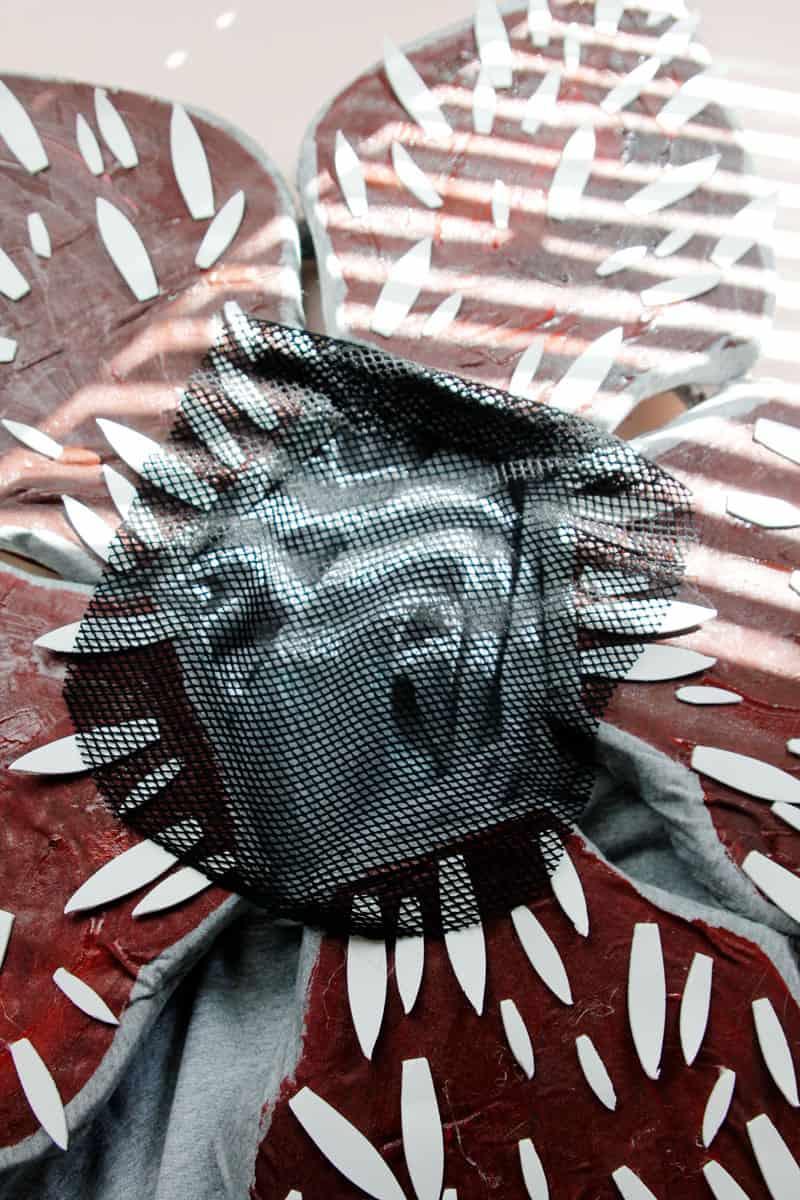 Demogorgon Petal Head Costume