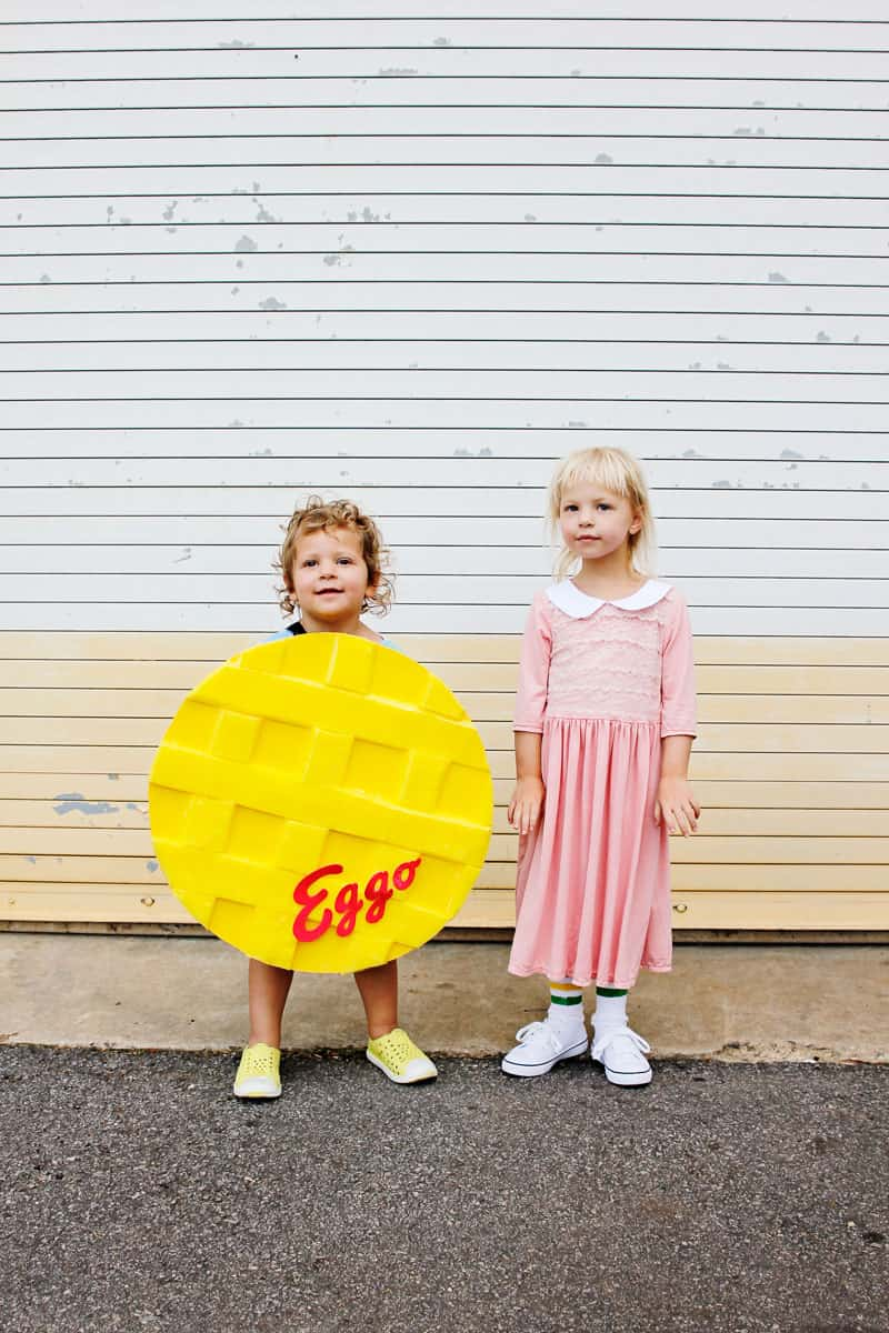 Eleven & Waffle Costumes