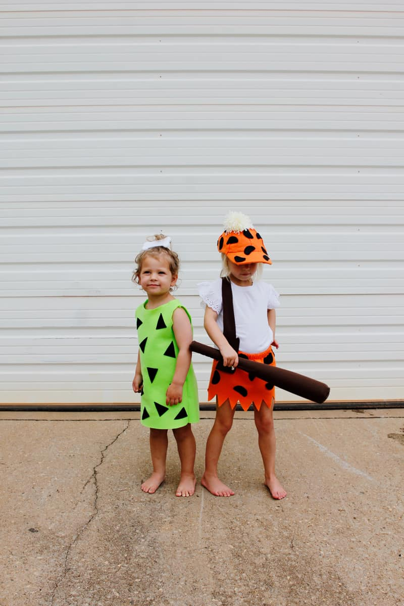 Pebbles and Bam Bam Costume | Flintstones Halloween Costumes