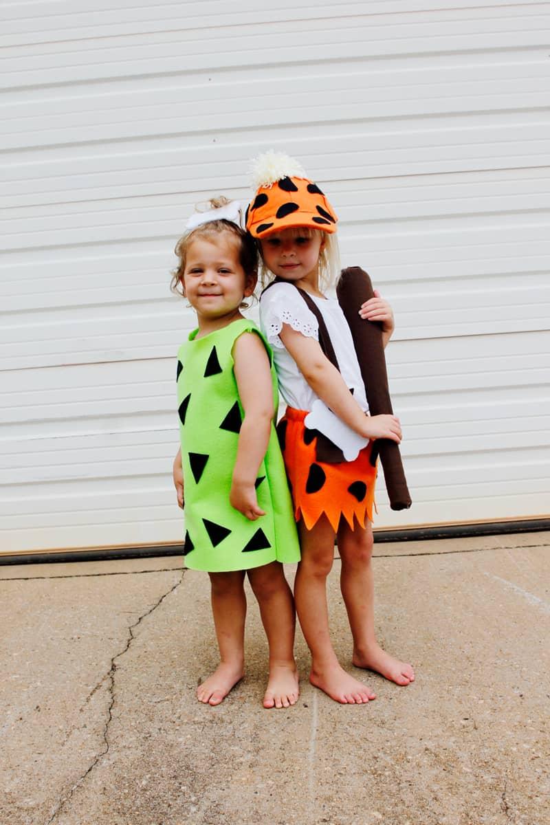 Pebbles and Bam Bam Costume | Flintstones Halloween