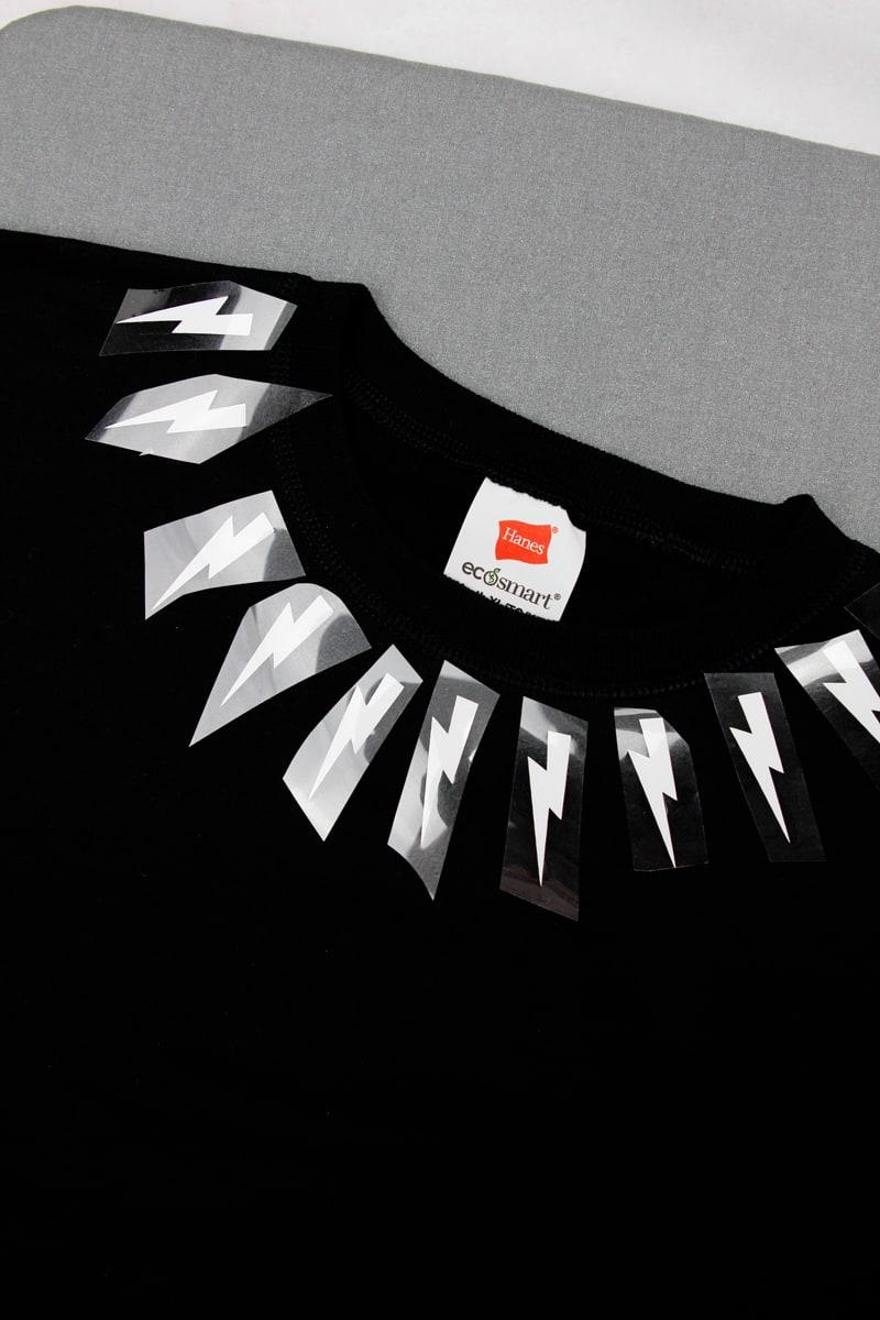 Schitt's Creek Costume   DIY Lightning Bolt Sweatshirt
