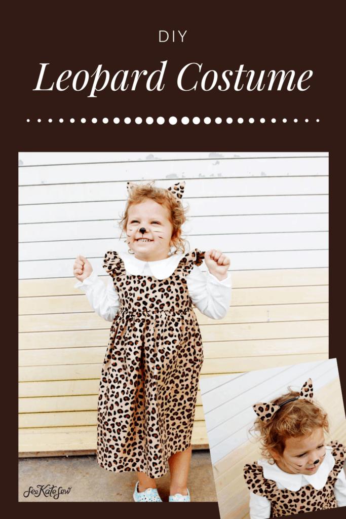 Leopard Halloween Costume | DIY Leopard Costume